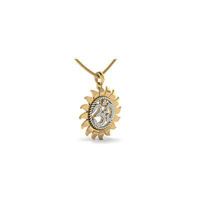custom made om pendant augrav personalized