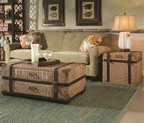 bermuda run end of bed trunk tv lift furniture gt living room furniture gt trunk gt leather wicker
