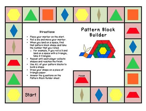 pattern blocks activities elementary 17 best images about math shapes on pinterest platonic
