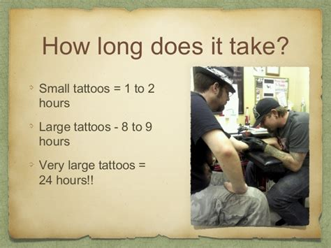 how long does a small tattoo take all about tattoos
