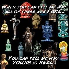 Counterfeit Gods Allah Allah Palsu the evolution of idolatry the birth of monotheism the