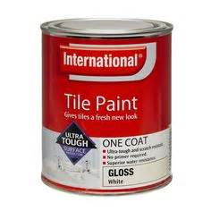 tile paint white 1l accent bunnings warehouse