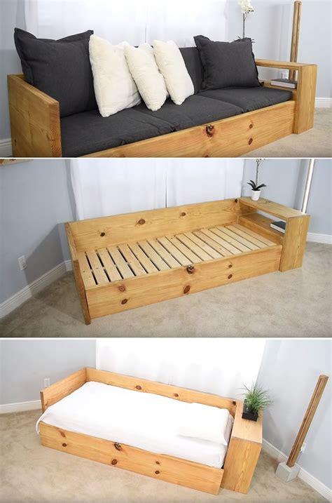 easy ways  build  diy couch  breaking  bank