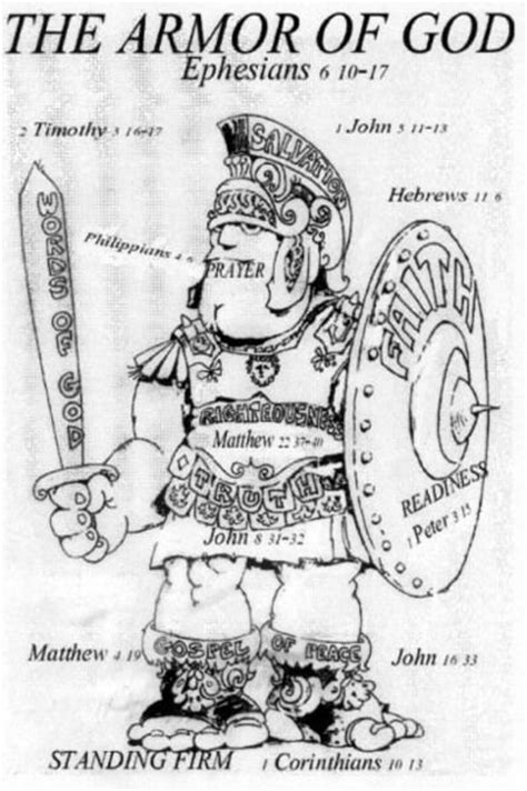 armor of god diagram coloring pages armors and coloring pages on