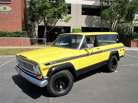 1977 Jeep Chief For Sale 1977 Jeep Chief For Sale Classiccars Cc
