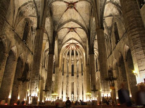 catedral del mar cathedral 8425340756 santa maria del mar church in barcelona thousand wonders