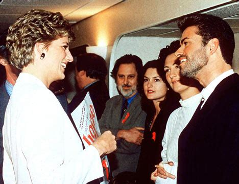 did princess diana try to have an affair with george