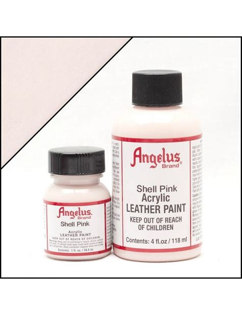 angelus paint on vans angelus dyes paint shell pink 1oz leather paint