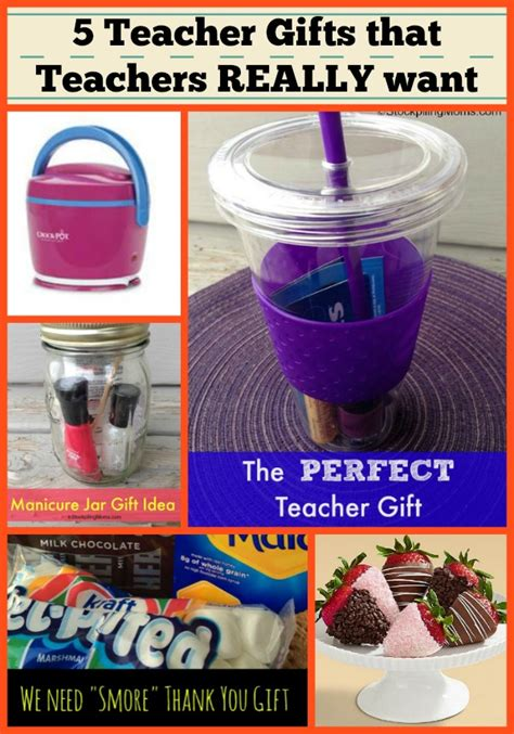 7 Great Gifts For Teachers by 5 Gifts That Teachers Really Want