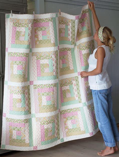 Tilda Patchwork - the apple bloom quilt tildas world