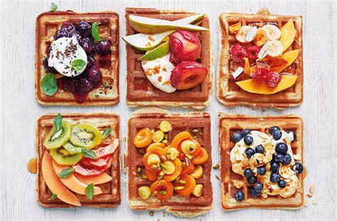 waffles color ponle color y sabor a tus desayunos con estos wafles