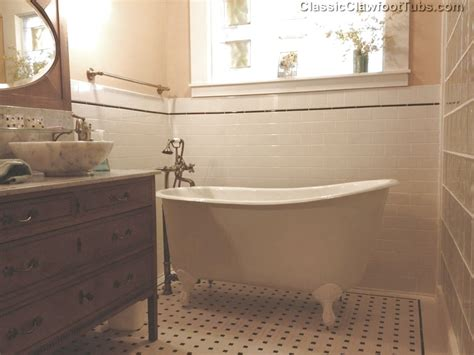 535quot cast iron swedish slipper tub classic clawfoot tub