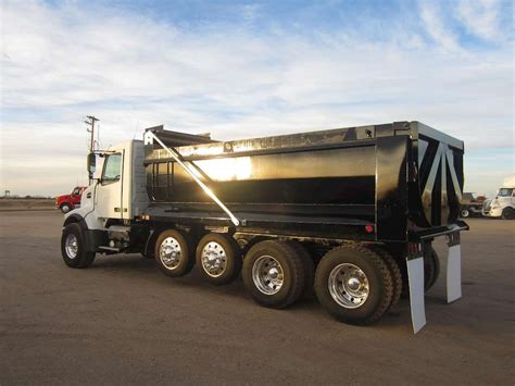 heavy duty volvo trucks for sale 2008 volvo vhd64b200 heavy duty dump truck for sale