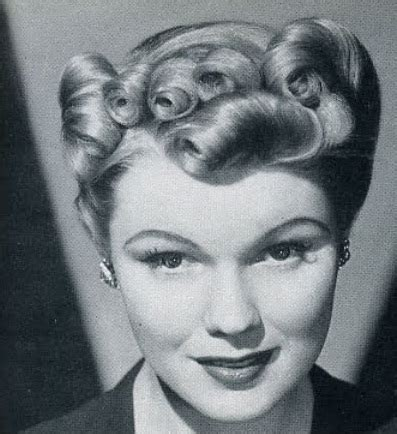 easy 1930 hair 1950s hairstyles for curly hair