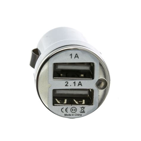 Car Charger Mobil 3 Output Car 2 Usb Port white 2 port usb car charger 3 1 output cablewholesale