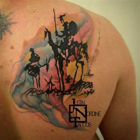 15 incredible don quixote tattoos tattooblend