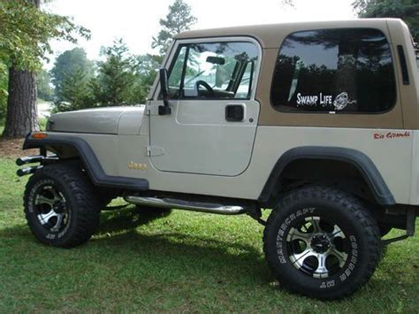 Used 1995 Jeep Wrangler Sell Used 1995 Jeep Wrangler Grande Yj In Allendale