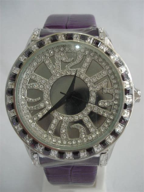 Jam Tangan Chopard Kulit Tirai stainless steel fairfairyfashion
