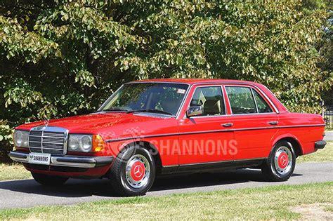 230e mercedes sold mercedes 230e sedan auctions lot 13 shannons