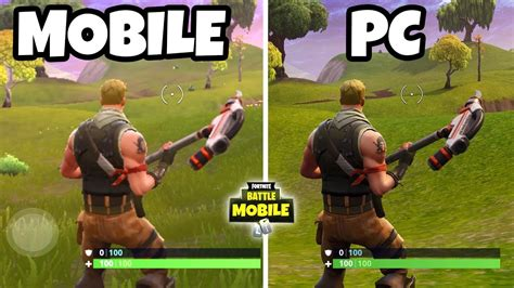 fortnite mobile  fortnite pc ios android gameplay