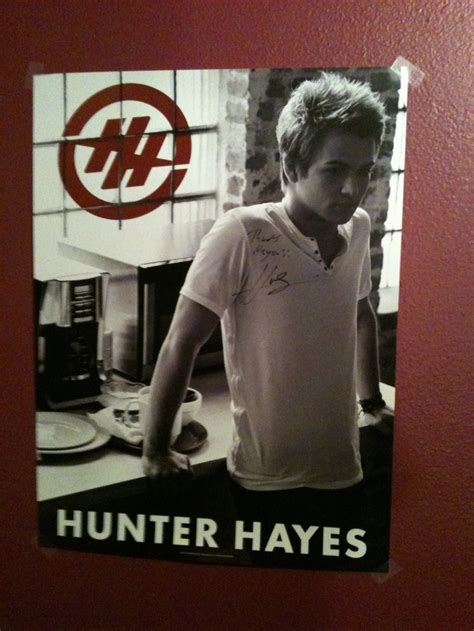 Hunter Hayes Poster | hunter hayes poster things for my dream room pinterest