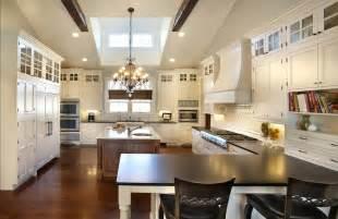Colonial Revival Chandelier 2 Tone Kitchen