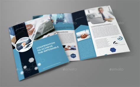 company brochure design templates company profile brochure bi fold template vol 42 by