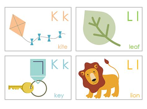 printable alphabet cards with pictures 13 sets of free printable alphabet flash cards