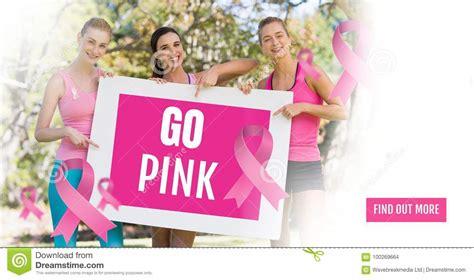 donne testo vanno il testo rosa e le donne rosa di consapevolezza