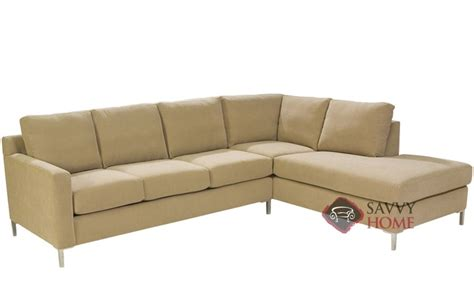 chaise queen sleeper sectional sofa soho fabric chaise sectional by lazar industries is fully