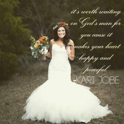 any wedding videos of kari jobes wedding kari jobe married quote trust in faith pinterest