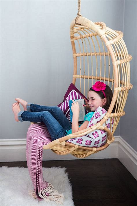 hanging chairs for bedrooms for kids beautiful hanging chair for bedroom that you ll love