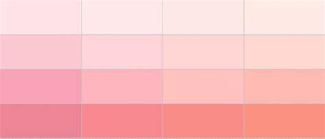shades of light pink secret