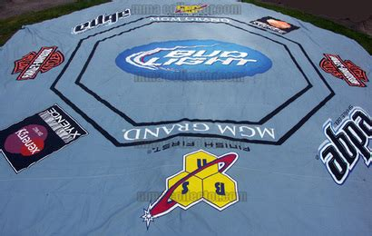 mma canvas mats the authentic ufc 114 octagon canvas is available for