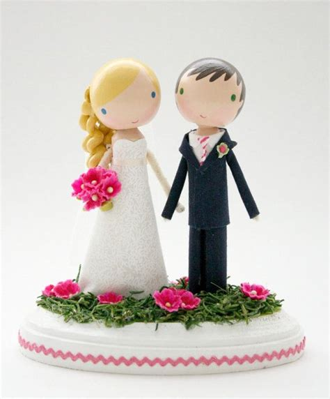 5 custom cake toppers that ll make you smile wedding