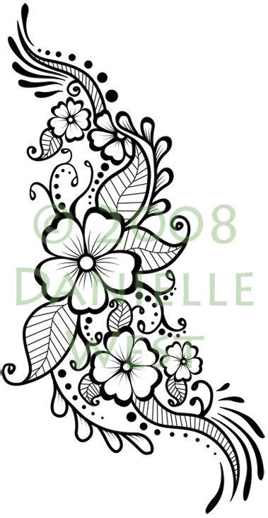 henna flower tattoo tumblr henna flowers on simple mehndi designs simple