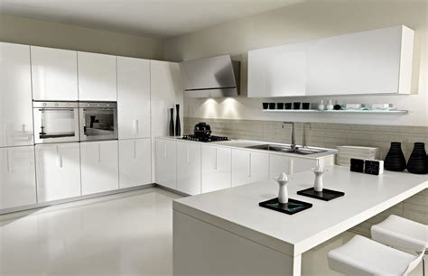 white modern kitchen 15 serene white kitchen interior design ideas https