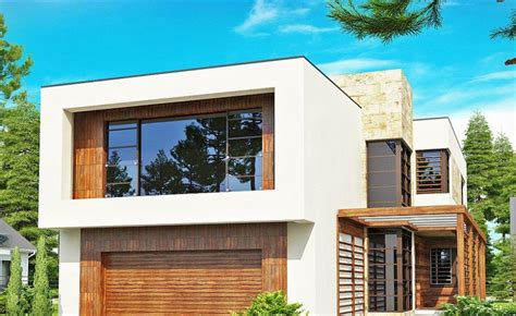 modern two story house designs double story modern house plans modern house