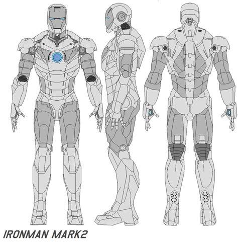 printable iron man armor ironman mark 2 armor by bagera3005 on deviantart
