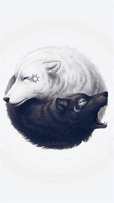 tattoo yin yang animal yin yang wolf yin yang and tattoo