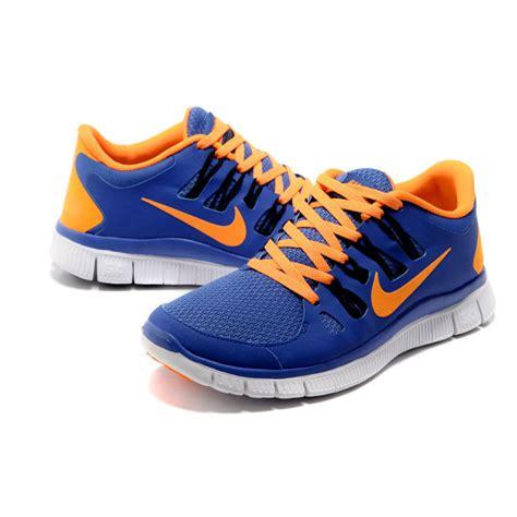 Nike Free 5 0 Blau 3666 by Nike Free 5 0 Blau Orange Damen Vom Eulenloch De