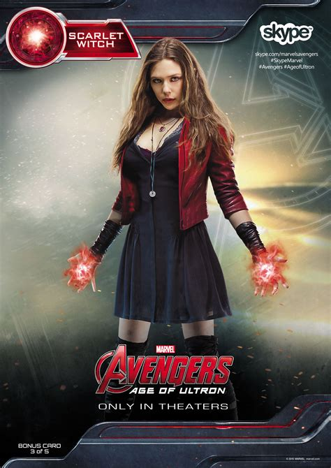 Poster The Age Of Ultron Scarlet Witch Ukuran A3 2480 215 3508 quicksilver and scarlet witch scarlet witch scarlet and marvel