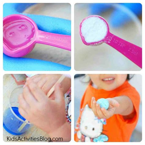 to make with toddlers diy for make a bouncy collage