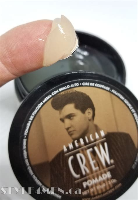 Pomade American Crew american crew pomade for shine in a water