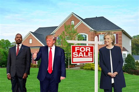 homes of the presidential candidates why presidential candidates should be talking about