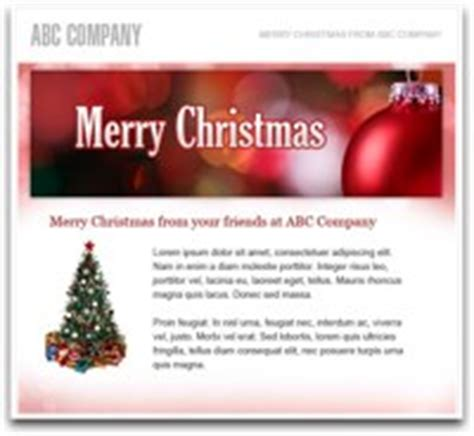 send a holiday email to your customers and prospects