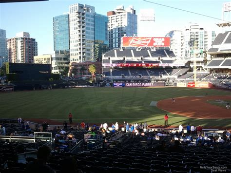 petco park section 114 rateyourseats
