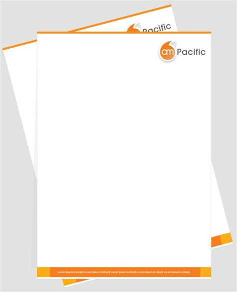 business letterhead design ideas best photos of official letterhead format letterhead