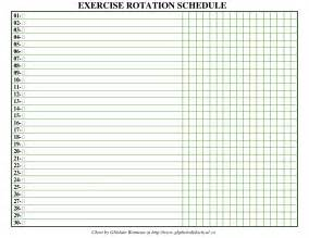 png exercise rotation schedule sample for resistance