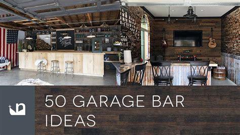 50 garage bar ideas